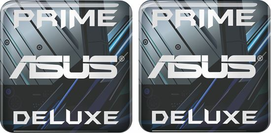 Picture of Asus Prime Deluxe Gel Badges