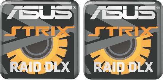 Picture of Asus Strix Raid DLX Gel Badges