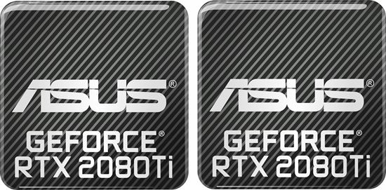 Picture of Asus Geforce RTX 2080Ti Gel Badges