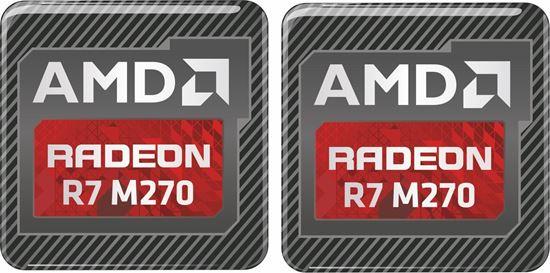 Picture of AMD Radeon R9 M365X Gel Badges