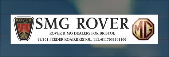 Picture of SMG Rover - Bristol Dealer rear glass Sticker