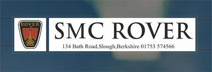 Picture of SMC Rover - Berkshire Dealer rear glass Sticker