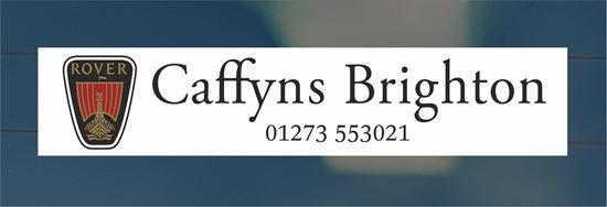 Picture of Caffyns - Brighton Dealer rear glass Sticker
