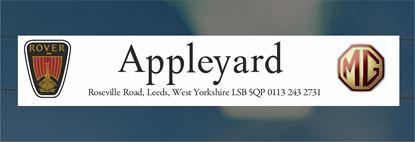 Picture of Appleyard - Leeds Dealer rear glass Sticker