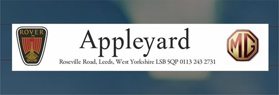 Picture of Appleyard - Leeds Dealer rear glass Sticker