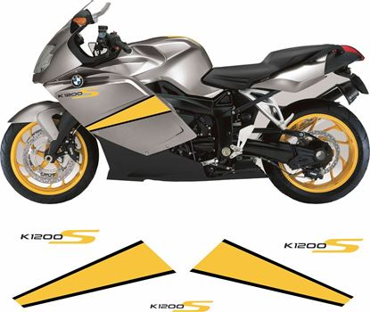 Picture of BMW K 1200 S 2007 - 2008 replacement Decals / Stickers