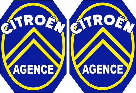 Picture of Citroen Agence Decals / Stickers