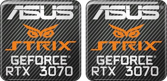 Picture of Asus Strix Geforce RTX 3070 Gel Badges