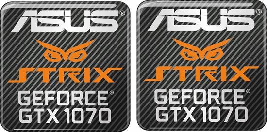Picture of Asus Strix Geforce GTX 1070 Gel Badges