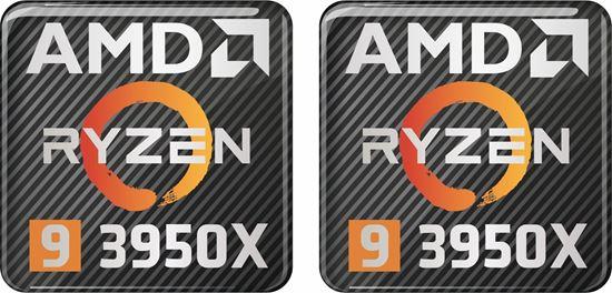 Picture of AMD Ryzen 9 3950X Gel Badges