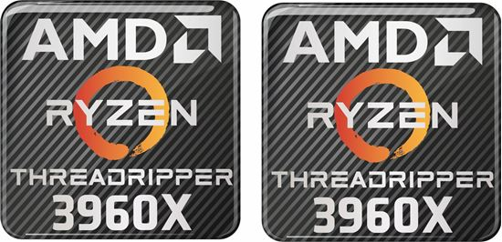 Picture of AMD Ryzen Threadripper 3960X Gel Badges