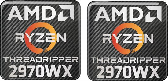 Picture of AMD Ryzen Threadripper 2970WX Gel Badges
