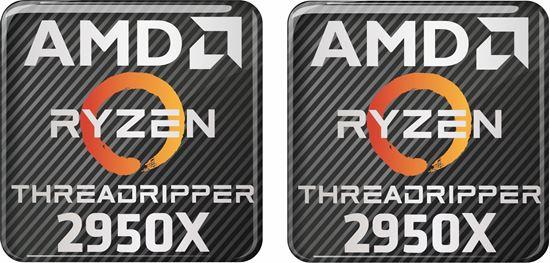 Picture of AMD Ryzen Threadripper 2950X Gel Badges