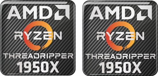 Picture of AMD Ryzen Threadripper 1950X Gel Badges