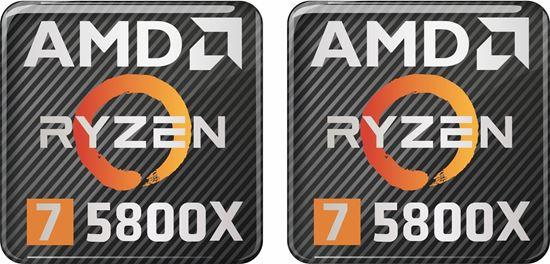 Picture of AMD Ryzen 7 5800X Gel Badges