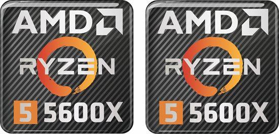 Picture of AMD Ryzen 5 5600X Gel Badges