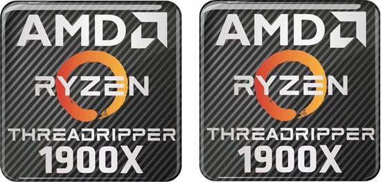 Picture of AMD Ryzen Threadripper 1900X Gel Badges