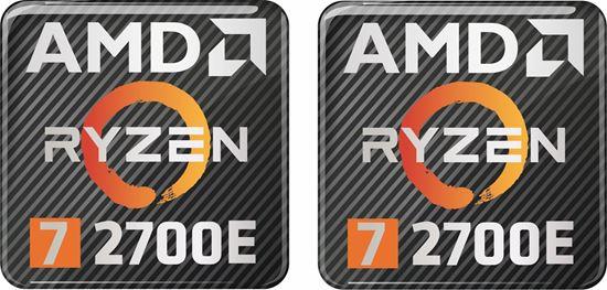 Picture of AMD Ryzen 7 2700E Gel Badges