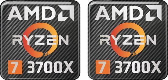 Picture of AMD Ryzen 7 3700X Gel Badges