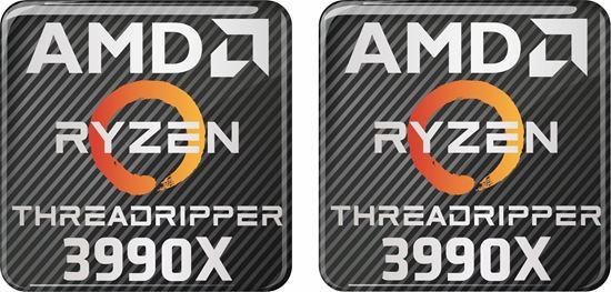 Picture of AMD Ryzen Threadripper 3990X Gel Badges