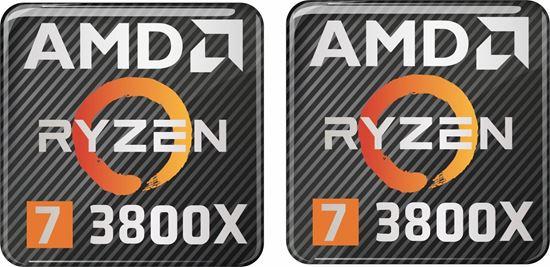 Picture of AMD Ryzen 7 3800X Gel Badges