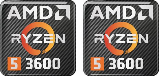 Picture of AMD Ryzen 5 3600 Gel Badges