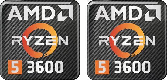 Picture of AMD Ryzen 7 1700X Gel Badges