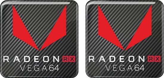 Picture of AMD Radeon RX Vega 64 Gel Badges