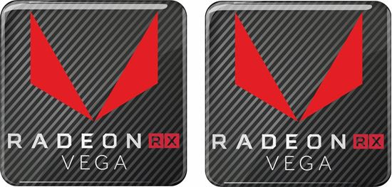 Picture of AMD Radeon RX Vega Gel Badges