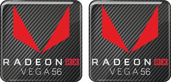 Picture of AMD Radeon RX Vega 56 Gel Badges