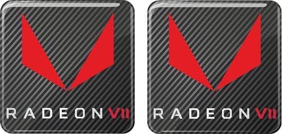 Picture of AMD Radeon VII Gel Badges