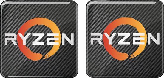 Picture of AMD Ryzen Gel Badges