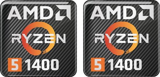 Picture of AMD Ryzen 5 1400X Gel Badges