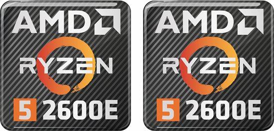 Picture of AMD Ryzen 5 2600E Gel Badges