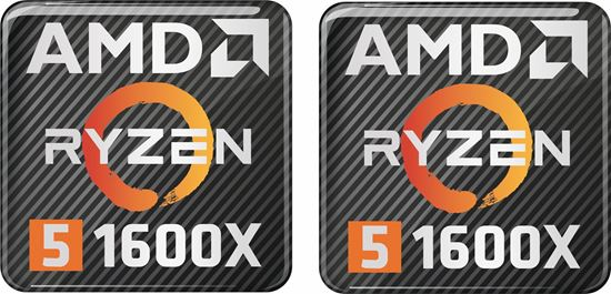 Picture of AMD Ryzen 5 1600X Gel Badges