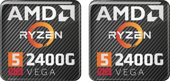 Picture of AMD Ryzen 5 2400G RX Vega Gel Badges