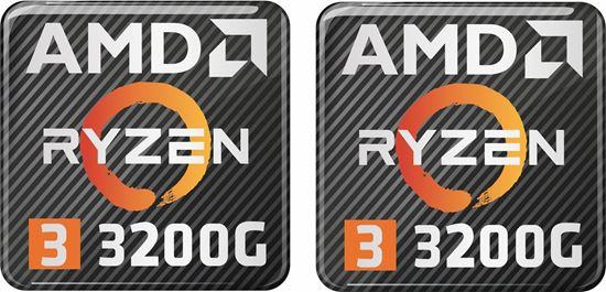 Picture of AMD Ryzen 3 3200G Gel Badges