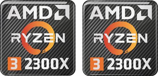 Picture of AMD Ryzen 3 2300X Gel Badges