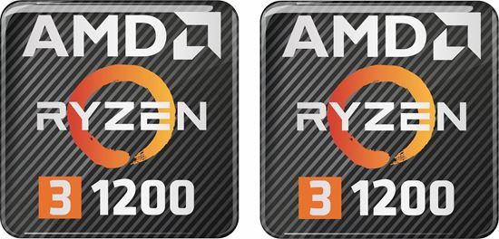 Picture of AMD Ryzen 3 1200 Gel Badges