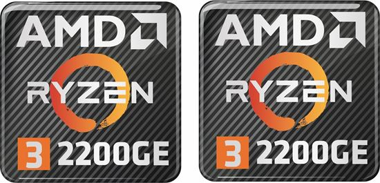 Picture of AMD Ryzen 3 2200GE Gel Badges