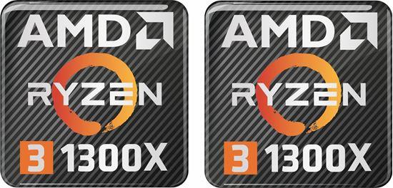 Picture of AMD Ryzen 3 1300X Gel Badges