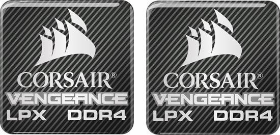 Picture of Corsair Vengeance LPX DDR4 Gel Badges