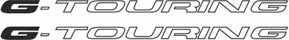 """Picture of Toyota Corolla Wagon """"G-Touring"""" 1997 - 2002 replacement side Decals / Stickers"""