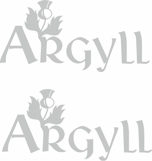 Picture of Land Rover Discovery Argyll Decals / Stickers