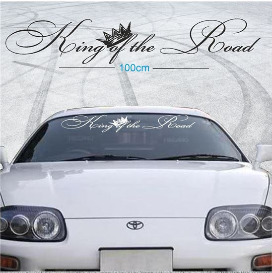 """Picture of """"King of the Road"""" Screen Decal / Sticker"""