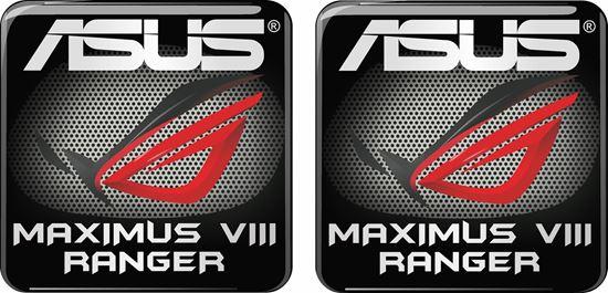 Picture of Asus Maximus VIII Ranger Gel Badges