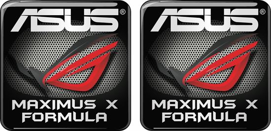 Picture of Asus Maximus X Formula Gel Badges