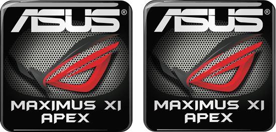 Picture of Asus Maximus XI Apex Gel Badges