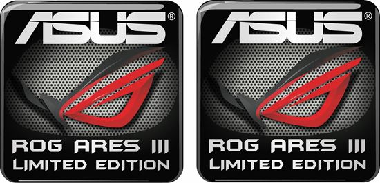 Picture of Asus Rog Ares III Limited Edition Gel Badges