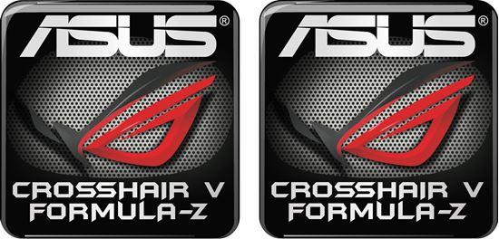 Picture of Asus Crosshair V Formula-Z Gel Badges